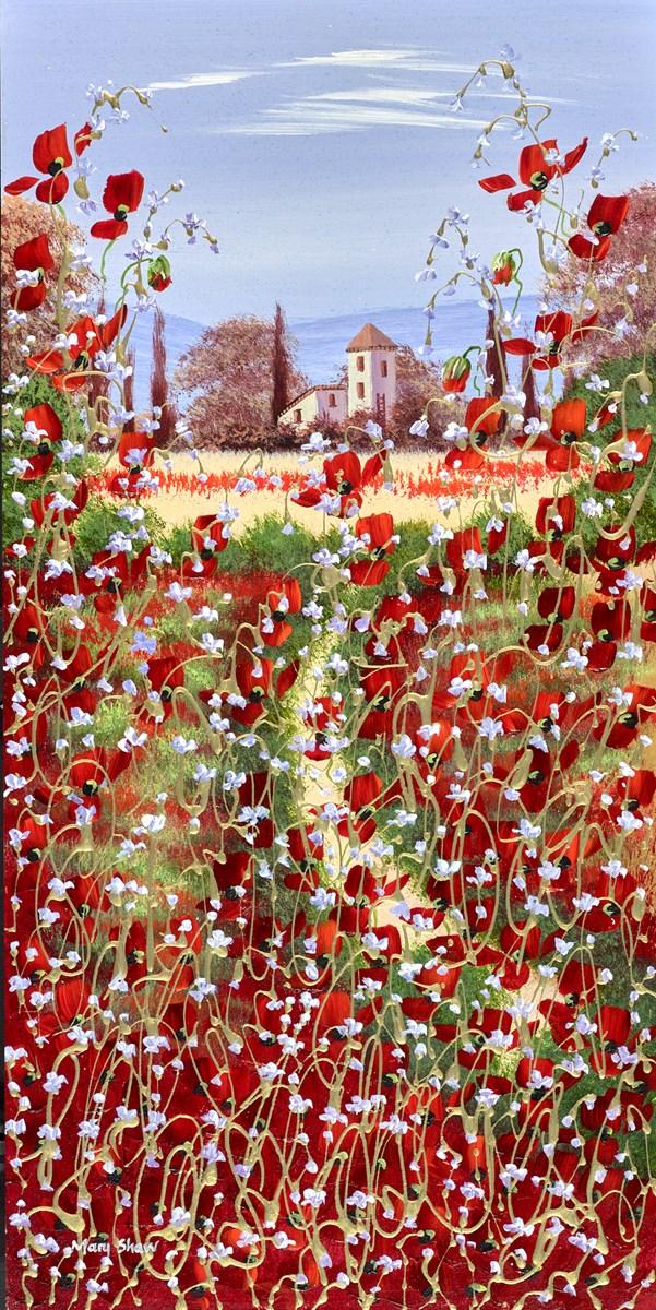 Poppies in the Garden III
